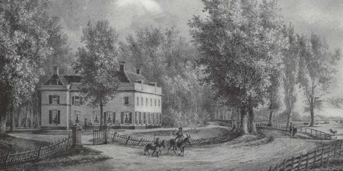 De Wildhoef rond 1761